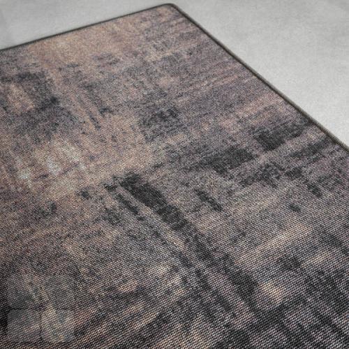 RAW gulvtæppe med mønsteret Oil Paint og overlook kant