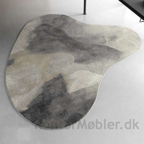 Create tæppe kan vælges i mange former, her er valgt en organisk form