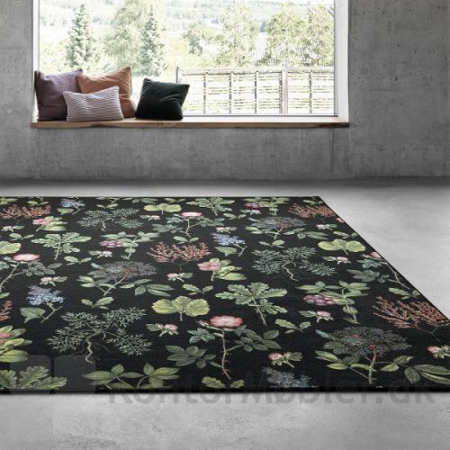 Create gulvtæppe med mønstret Flora