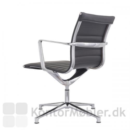 Sophia mødestol med fodkryds og 4 ben