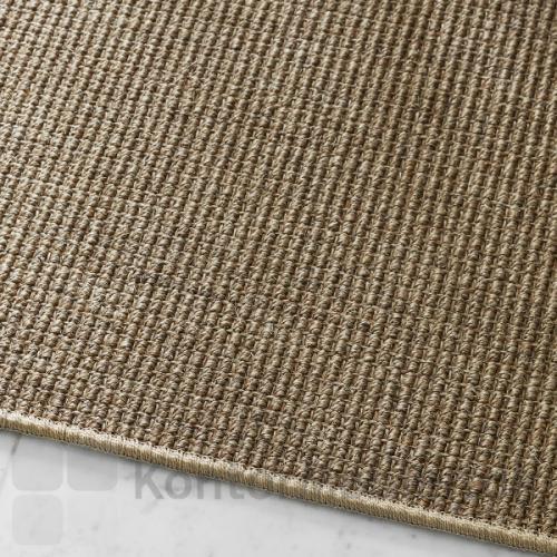 Sisal Berber tæppe med overlook kant