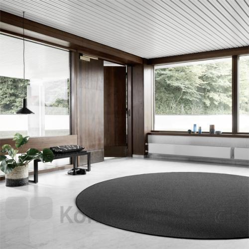Sisal Boucle tæppe er produceret i naturgarner