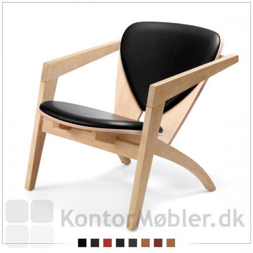 Denne smukke stol tilbydes i ubehandlet bøg.