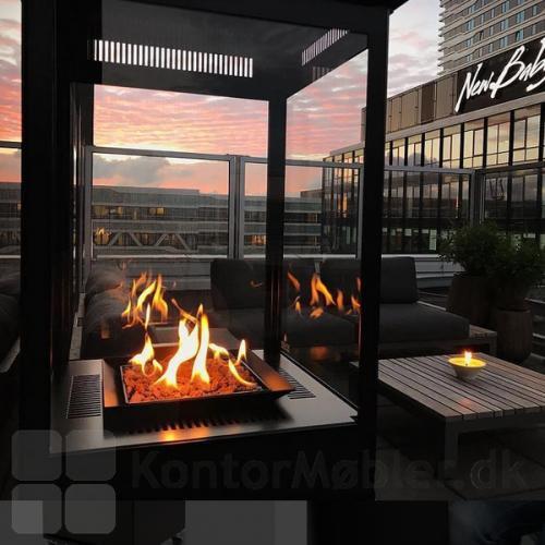 Sunwood Marino terrassevarmer til varme og hygge på terrassen