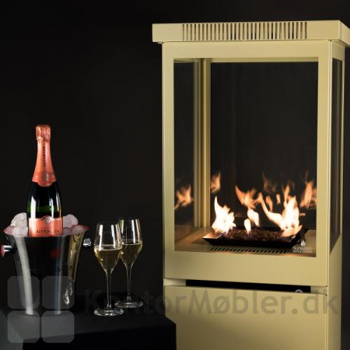 Champagne til Sunwood Marino terrassevarmer i farven champagne