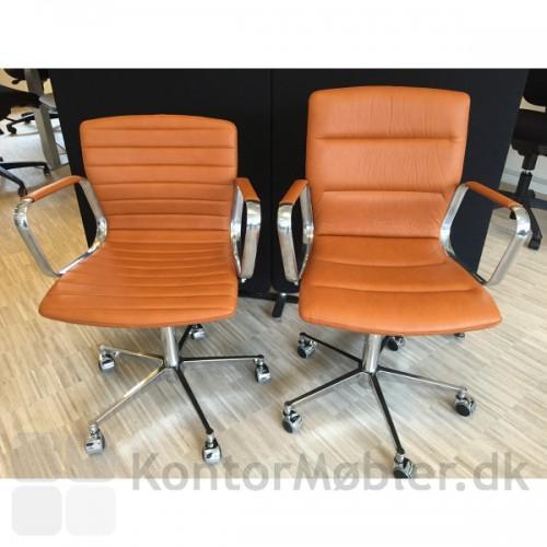 Swivel konferencestole med lav og høj ryg