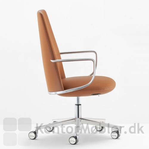 Elinor mødestol fra Pedrali har et eksklusivt design