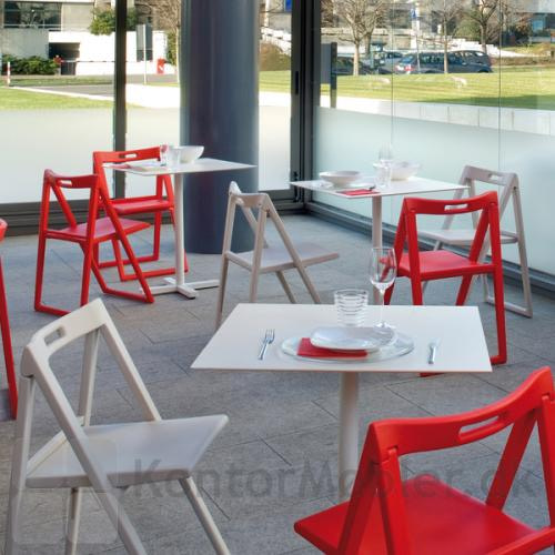Enjoy klapstol kan også bruges til caféen
