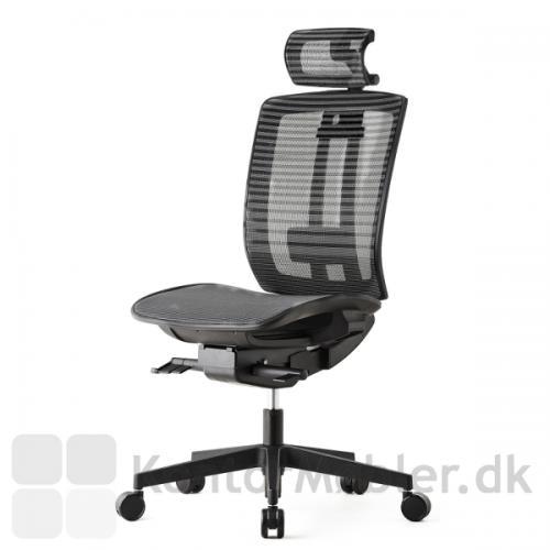 Air One kontorstol med nakkestøtte