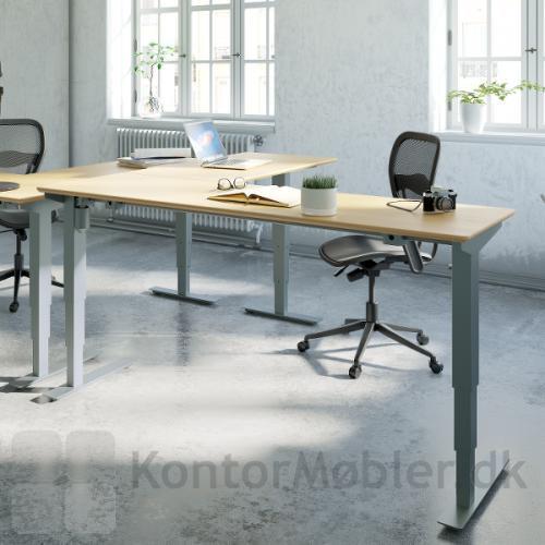 Conset 501-37 hæve sænke bord til mindre arbejdspladser
