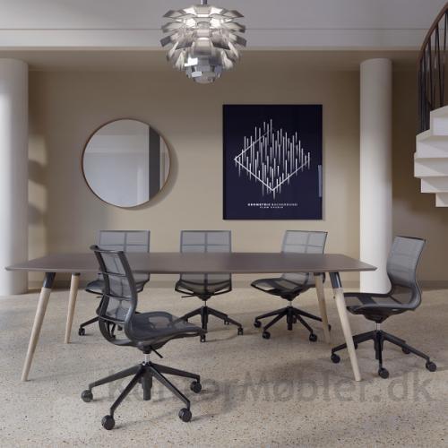 XL konferencebord til mindre mødelokale