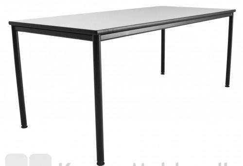 Kantinebord sort og grå