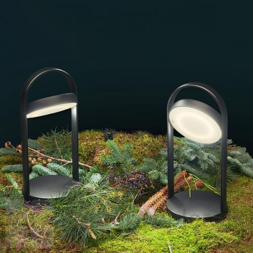 Giravolta lampe højde 33 cm kan også bruges som dekorations belysning