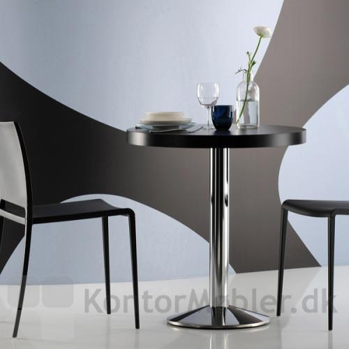 Tonda cafébord i stilrent design