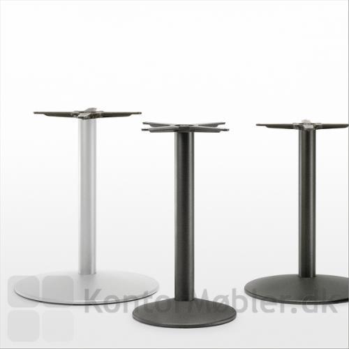Tonda cafébord fås med flere varianter af stel