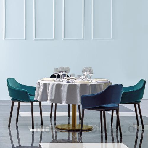 Inox cafébord er velegnet til små såvel som store arrangementer