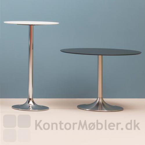 Dream cafébord fås i forskellige stelhøjder