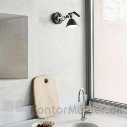 Fortebraccio væglampe kan anvendes på badeværelset
