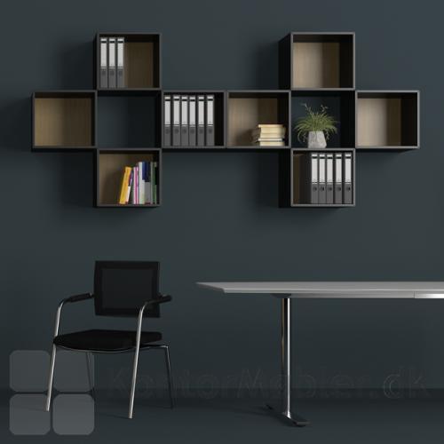 Delta skab med 1 rum kan bruges som en lille bogkasse