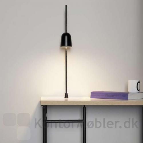 Ascent bordlampe giver god lysspredning