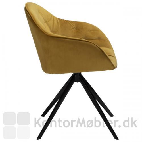 Cray stol set fra siden