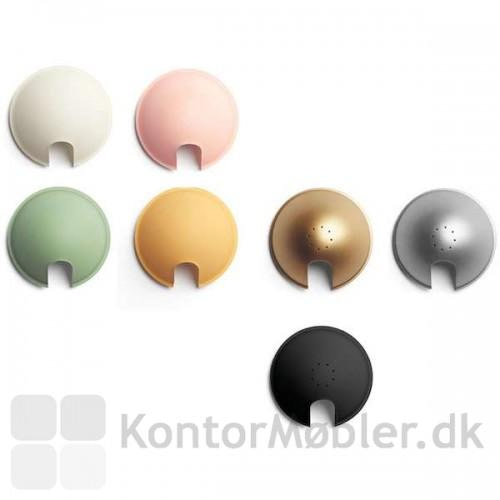 Berenice bordlampe kan vælges med 7 forskellige skærmfarver
