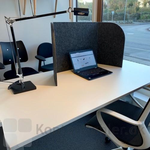 Sofia bordskærm kan flyttes derhen, hvor der er behov for ro og fordybelse