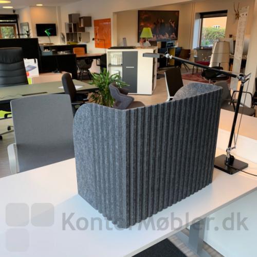 Sofia bordskærm  er velegnet til fælleskontorer