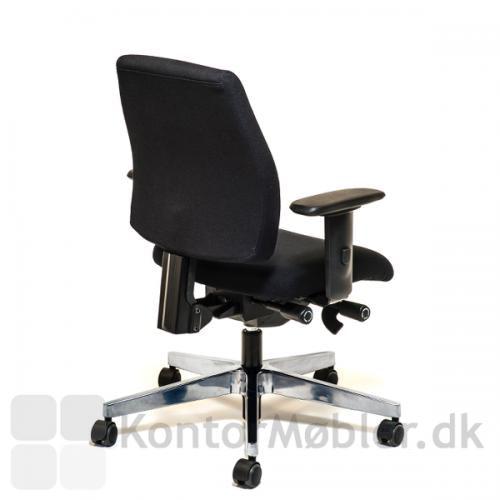 Siff kontorstol med multi justerbart armlæn