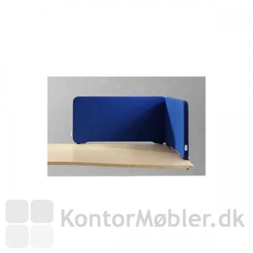 Edge bordskærm kan sættes sammen så den afskærmer bedst muligt