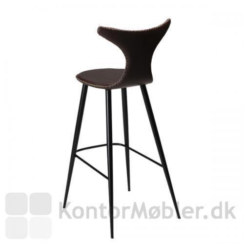 Dolphin barstol har et flot tidløst og nordisk design