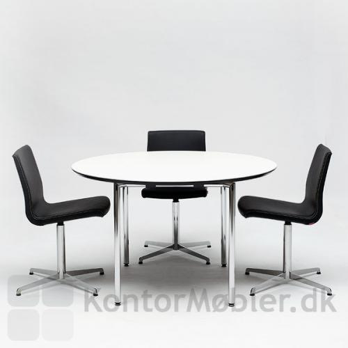 Concept foldebord med rund bordplade Ø120 cm
