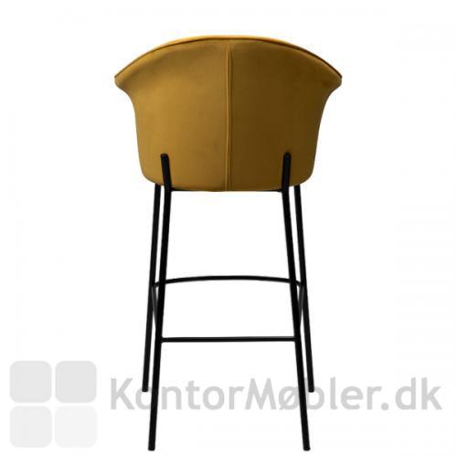 Kite barstolen med helt enkel og glat ryg
