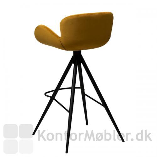 Gaia barstol giver med sit dramatiske design, enhver bar et nutidigt look