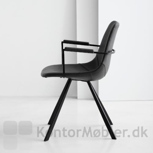 Pitch restaurantstol med armlæn