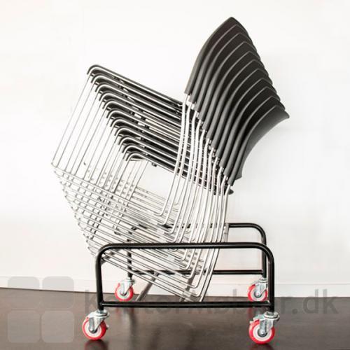 Trolley til Sting mødestol med plads til 39 stole.