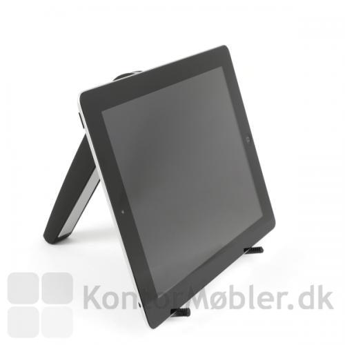 Contour Labtop stand kan både bruges til bærbar pc og tablet