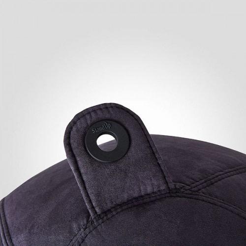 Ergonomisk Balancebold er nem at flytte med håndtaget og kan også hænges op vha. ringen
