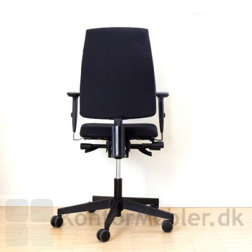 Thor kontorstol med 4D armlæn, kan vælges under tilbehør