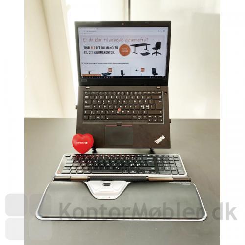 Contour Rollermouse Red Plus - vi bruger også RollerMouse med tastatur