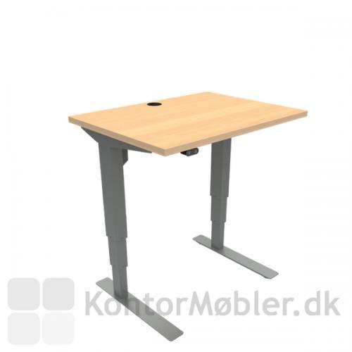 Conset 501-37 hæve sænke bord med bordpladestørrelse 80x60 cm
