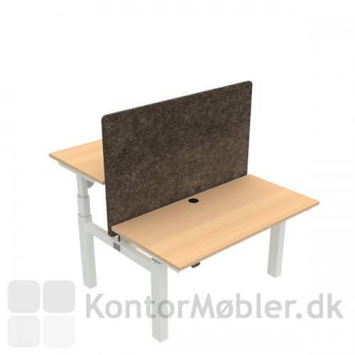 Conset 501-88 Dobbelt hæve sænkebord med bordpladestørrelse 120x60 cm