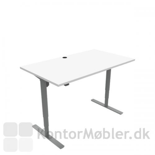 Conset 501-49 hæve sænke bord med bordplade størrelsen 140x80 cm
