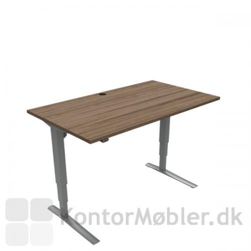 Conset 501-43 hæve sænke bord med bordplade størrelse 140x80 cm