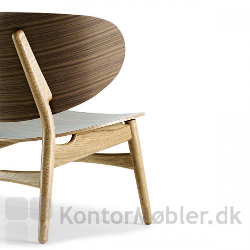 GE 1936 Wegner stol i flot klassisk design