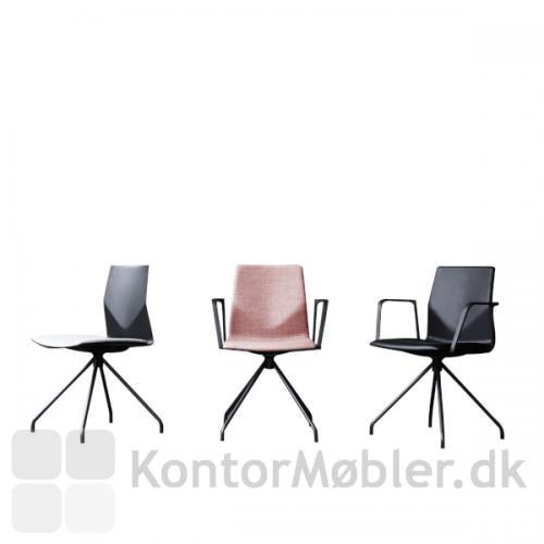 Four Cast´2 One mødestol - polstret
