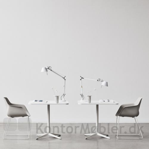 Four Me skalstol med hvidt medestel
