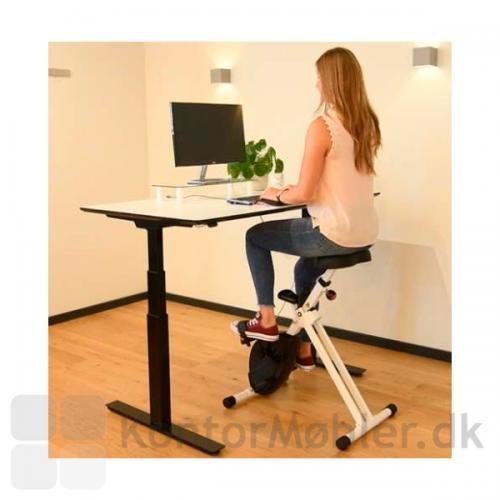 Easy Deskbike Kontorcykel kan justeres i højden