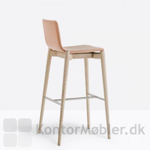 Malmö barstol 246 med stof polstring, sædehøjde 75,5 cm