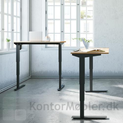 Conset 501-37 hæve sænke bord med højdevandring fra 57 cm til 122 cm